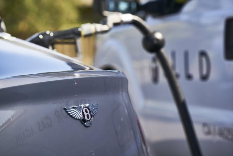 If you own a Bentley, your fuel will be delivered to you