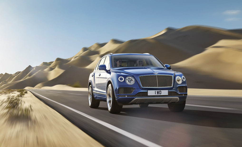 Bentley's Bentayga gets set for the GCC market