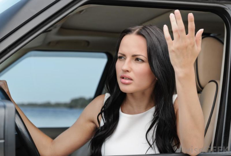 Women are more angry than men while driving