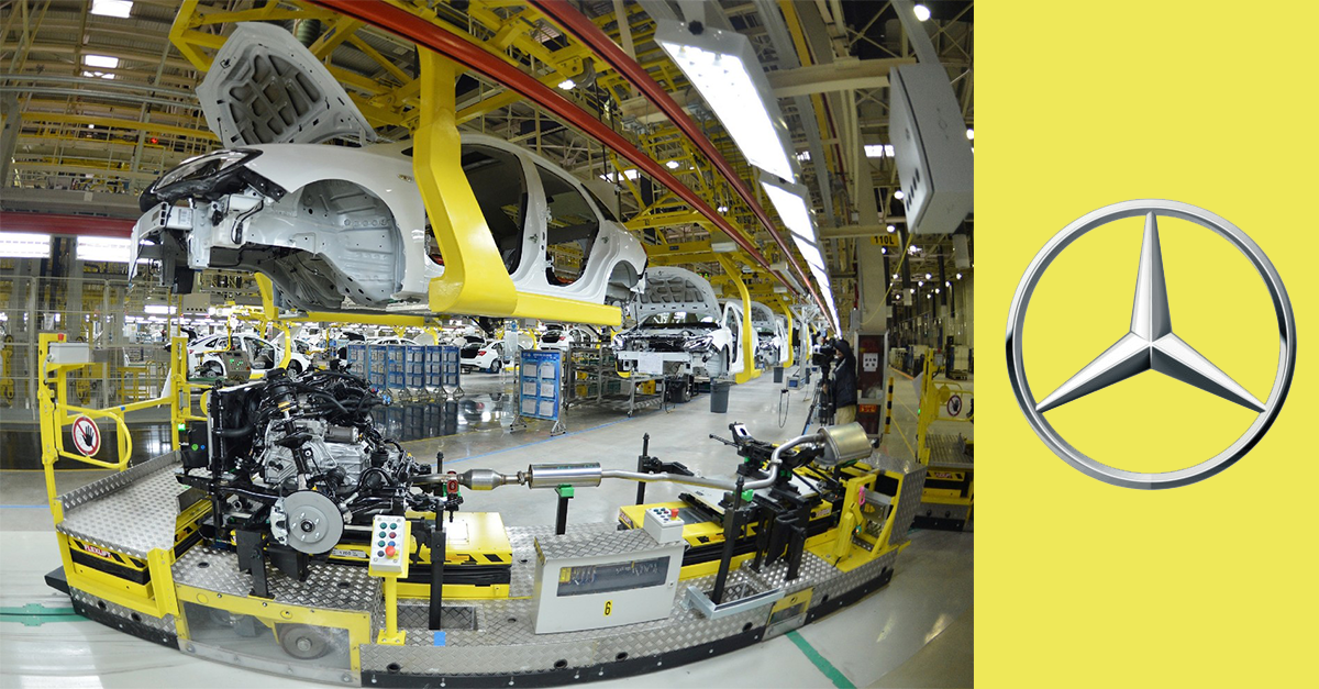 Watch: Unbelievable: How Does Mercedes Make its Cars from Scratch!