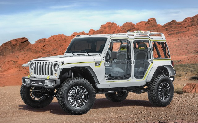 Watch: Jeep safari concept 2018
