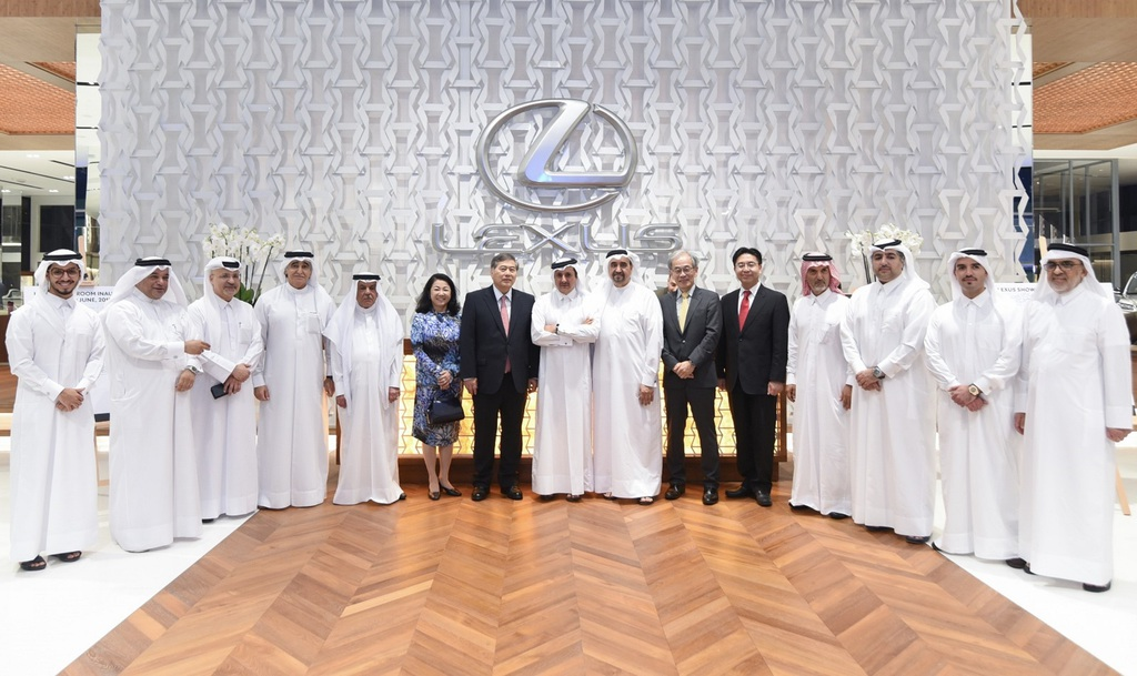 AAB inaugurates its newest state of the art Lexus Showroom