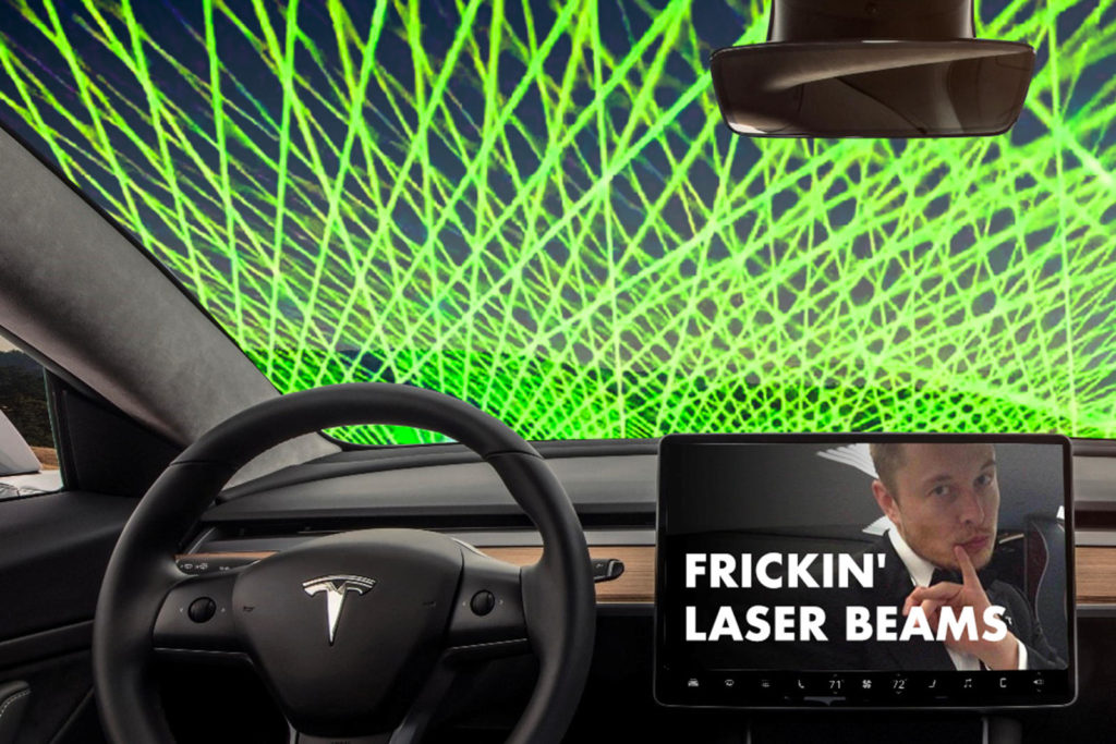 Tesla to end the era of the windshield wipers