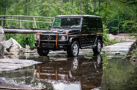 Enjoy the beauty of the G-Class!