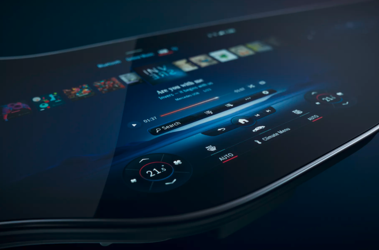 Video: an impressive new display screen from Mercedes