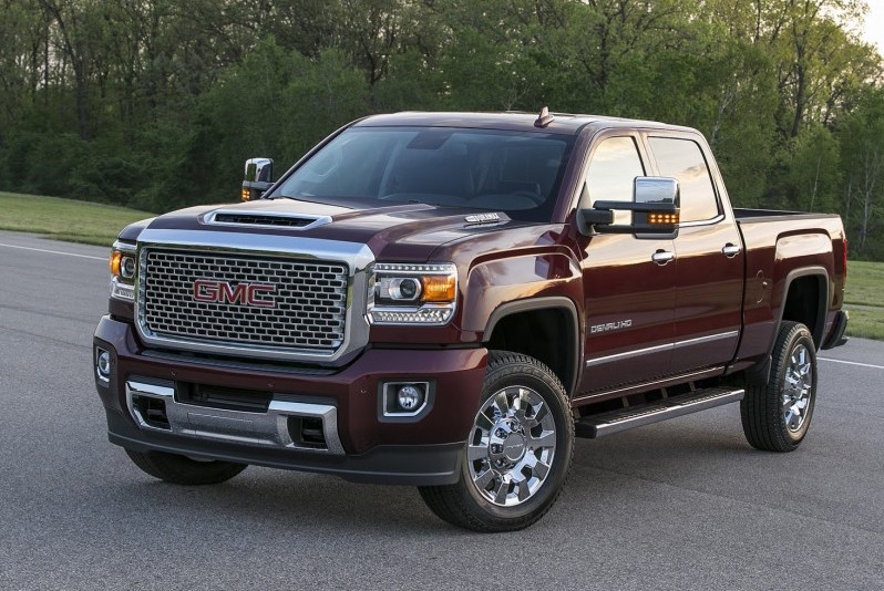 GMC is showing off with its Sierra Denali