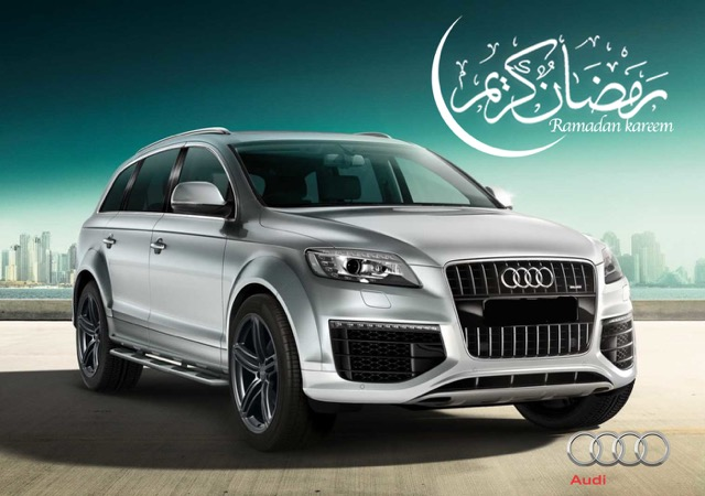 Amazing offer from Q-Auto on Audi cars this Ramadan!
