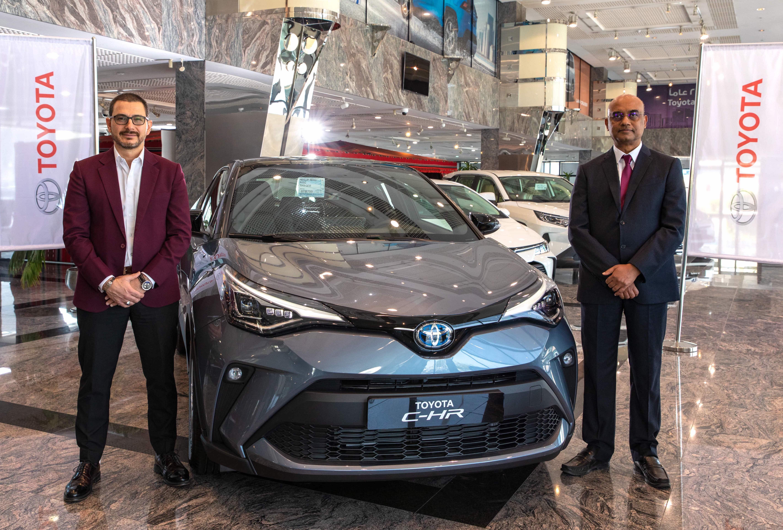 عبد الله عبد الغنى تحتفل باطلاق السيارة الجديدة كليا تويوتا C-HR 2020 الهايبرد