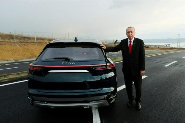 Turkish Leader Unveils Prototypes of 1st Domestic Car