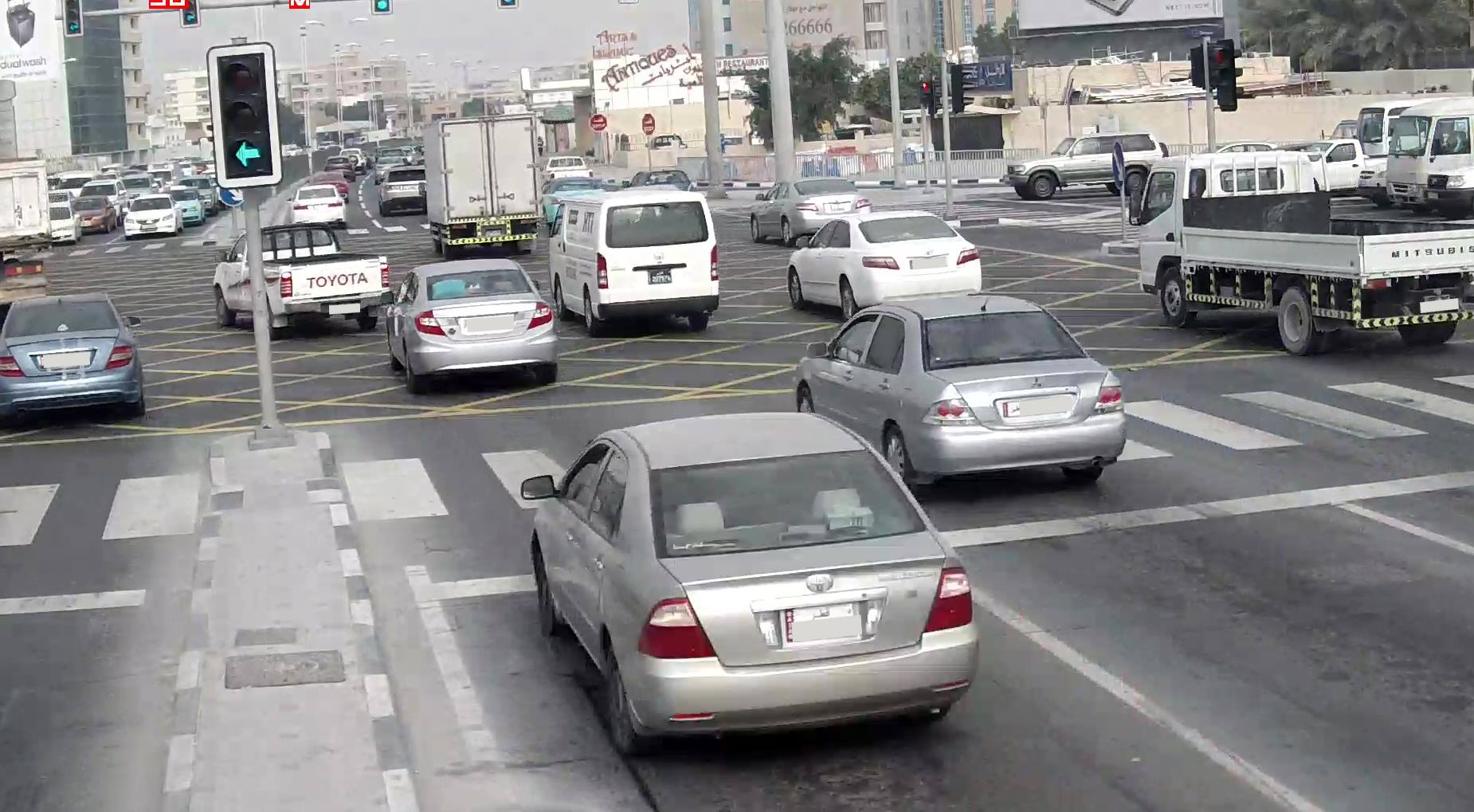 Activating new cameras at intersections