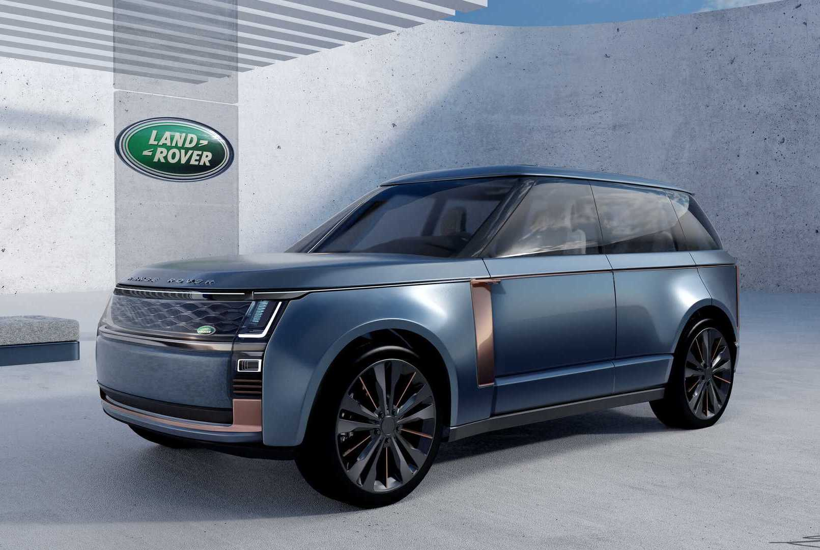 Land Rover Intern Envisions New Range Rover With Suicide Doors