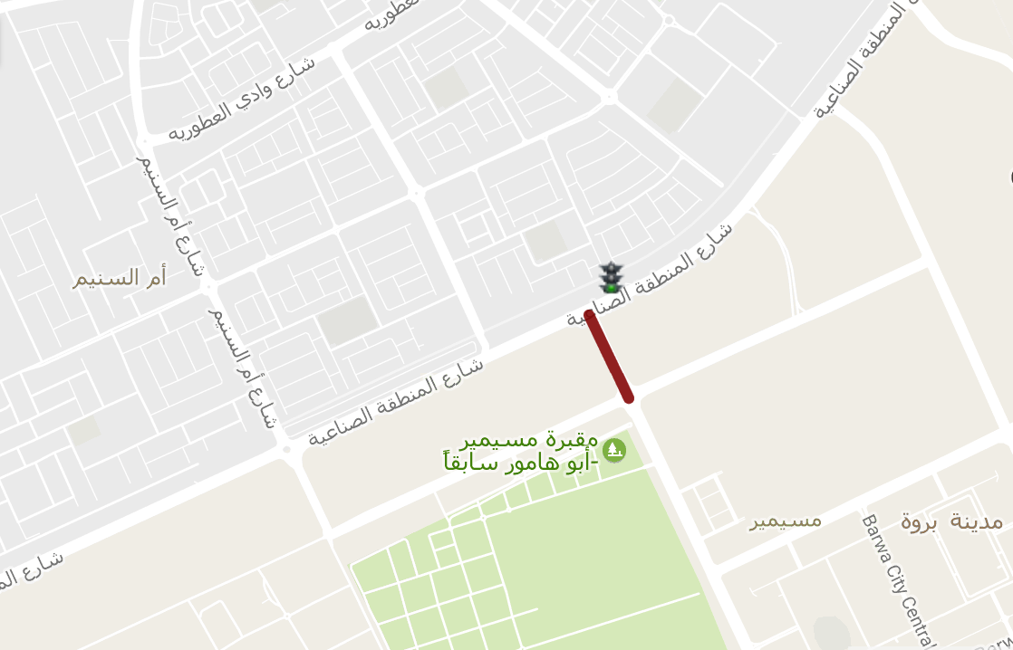Ashghal Opens New Road Connecting Industrial Area to Bu Samra