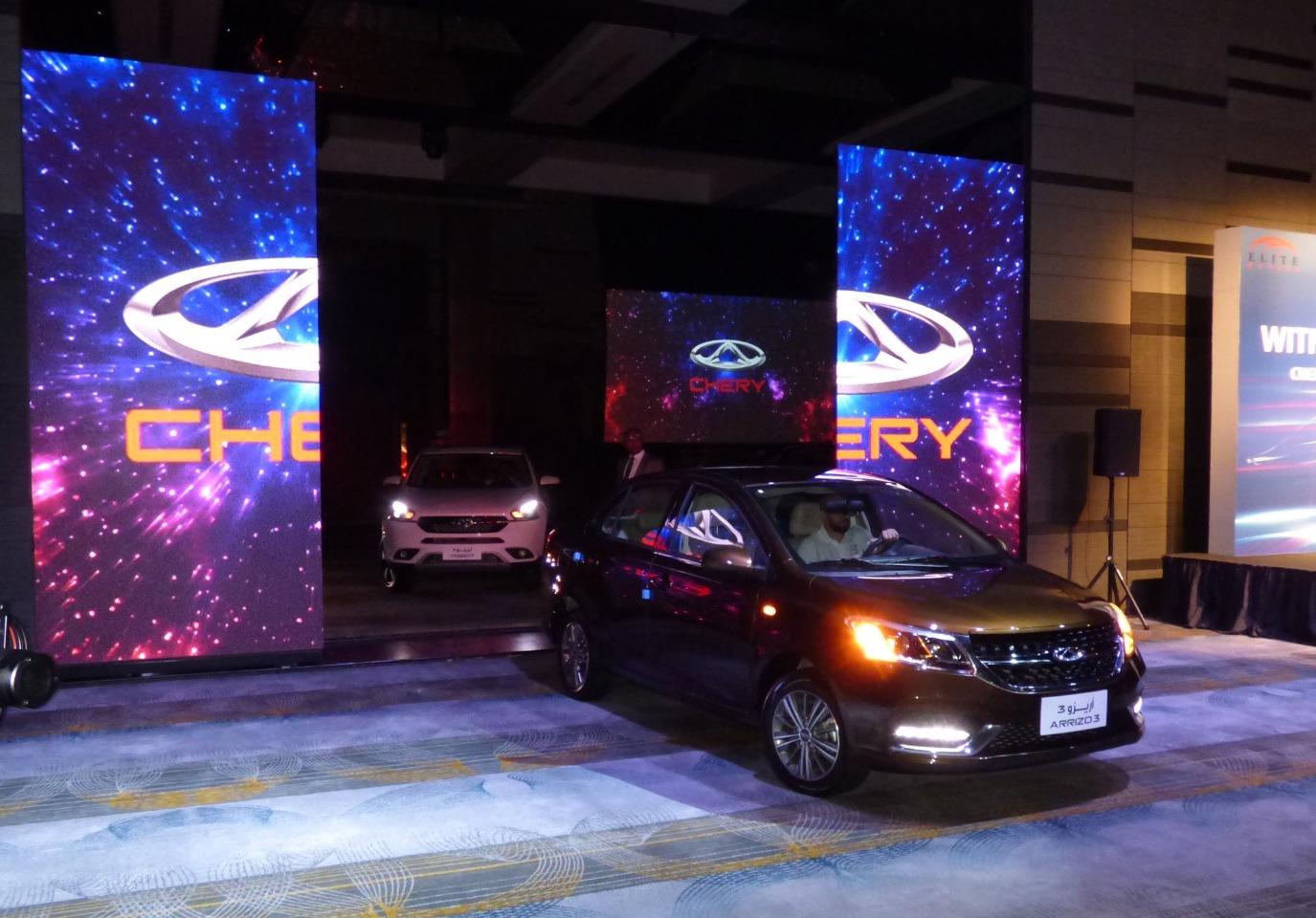 Elite Motors launches six Chery cars 2020 in Qatar