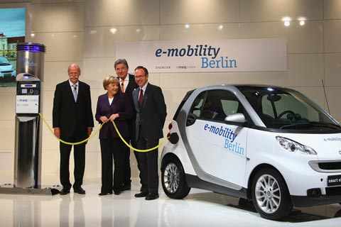 Germany in 2030 is clear from petrol and diesel car engines