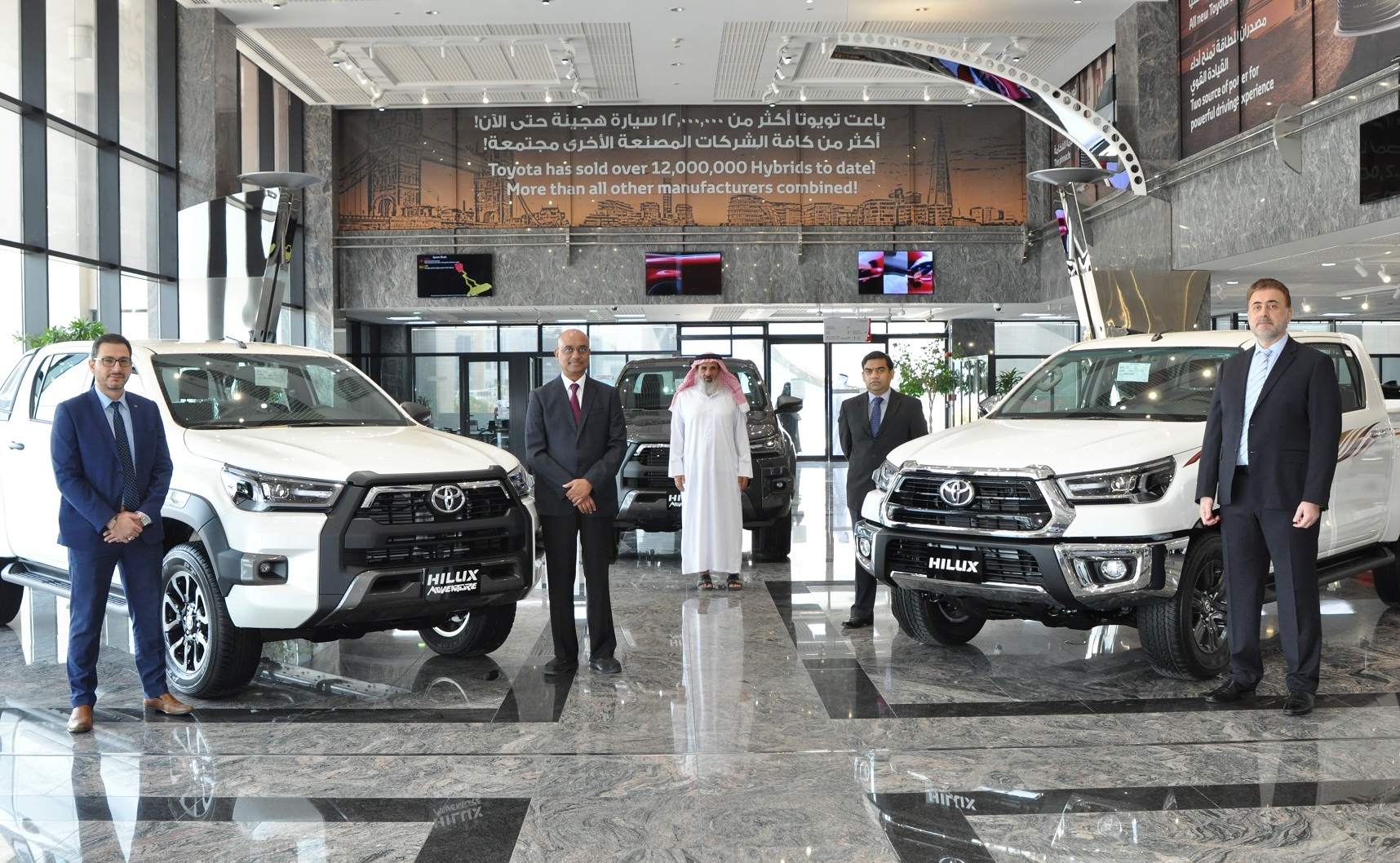 Toyota Qatar Launches the New Hilux 2021 YM