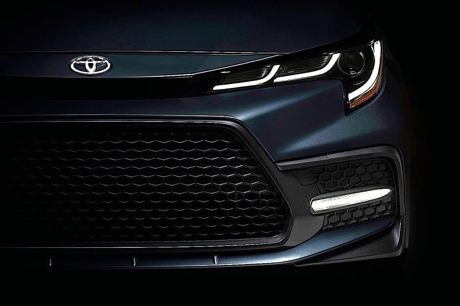 Toyota Launches 2020 Toyota Corolla Sedan teaser