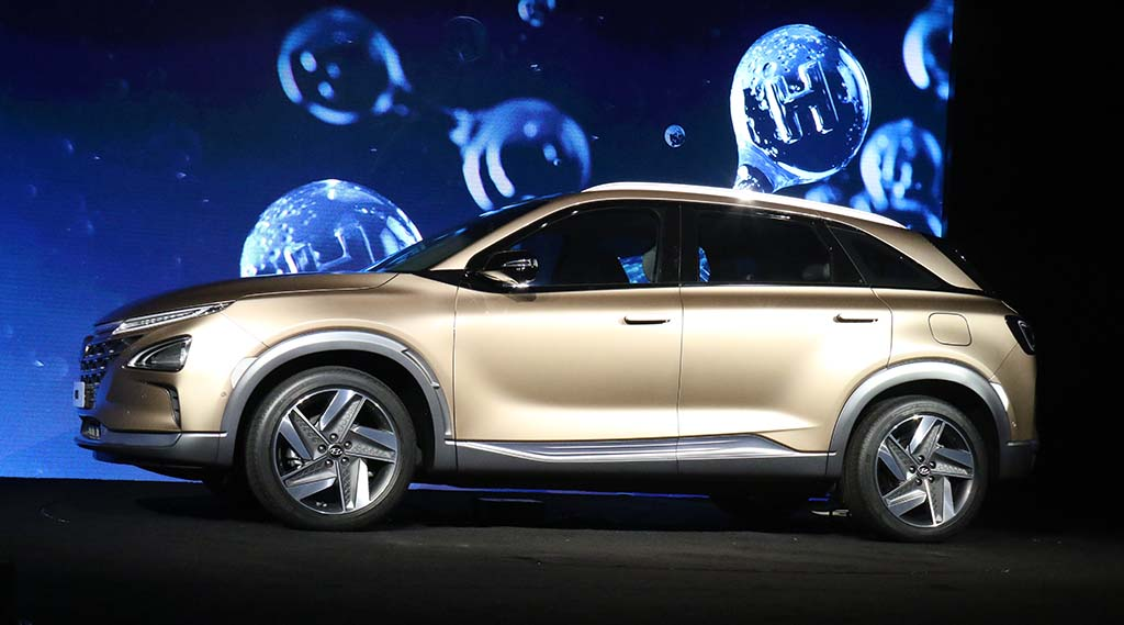 Hyundai Nexo Proudces water That Could Be Used Drink