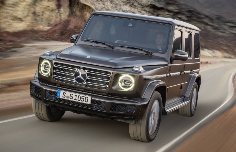 Finally … Mercedes G-Class is out