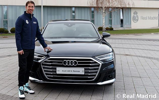 What Real Madrid players selected from Audi