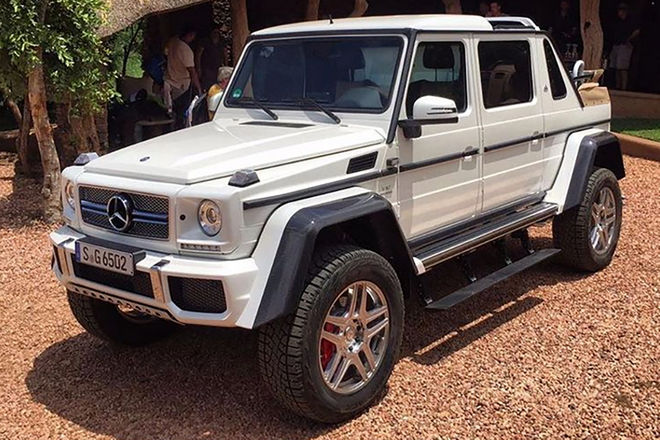 Leaked Video Shows the first G-Class Maybach