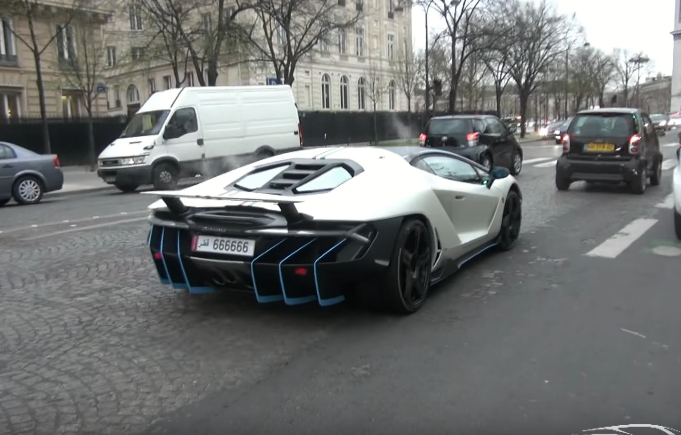 Video: The first Lamborghini Centenario is a Qatari car