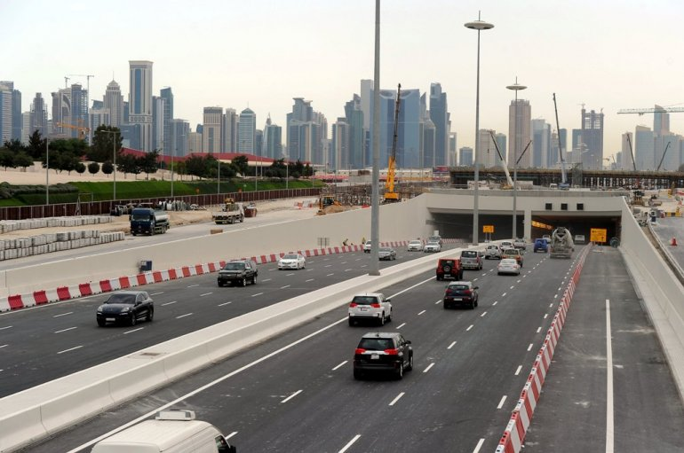 Video … Qatar's first bi-directional tunnel opens today