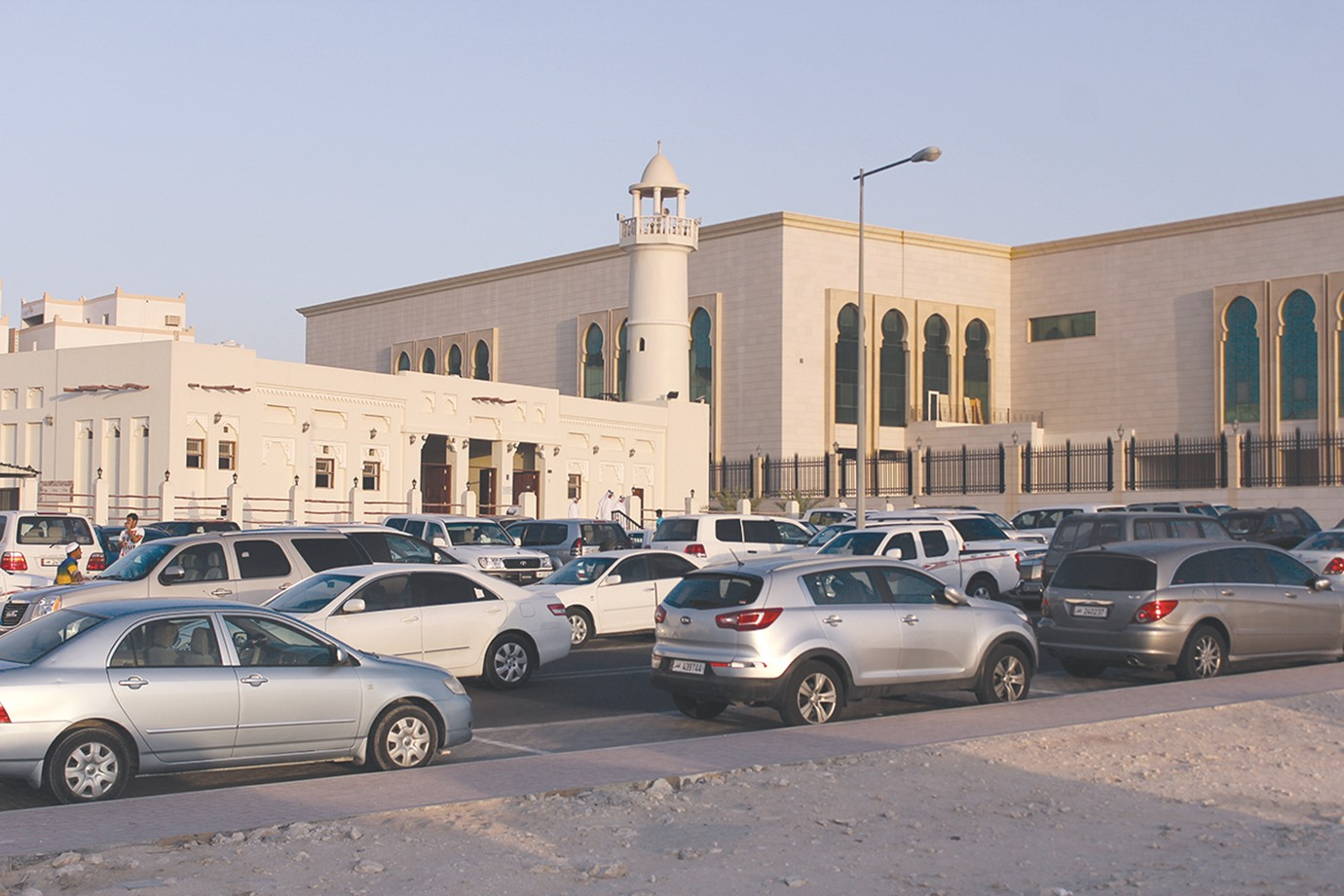 Be sensible when you park your car for Friday Prayer