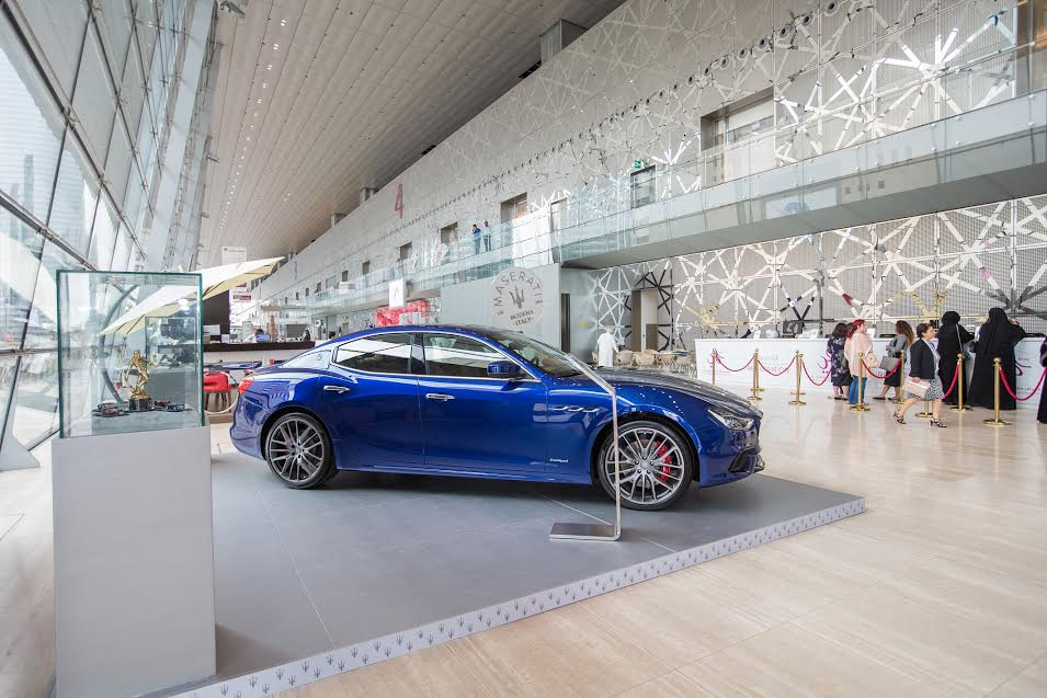 Alfardan Sports Motors marks second Maserati sponsorship for 13th Heya Fashion Show