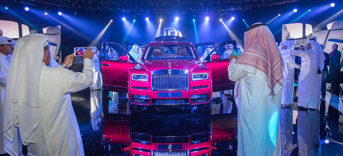 Rolls-Royce Motor Cars Doha unveils new car at an exclusive event in Qatar