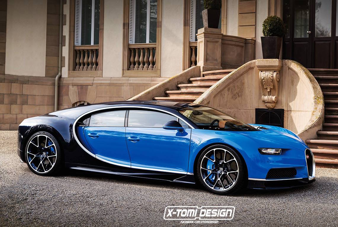 Imagine Bugatti in 4 doors