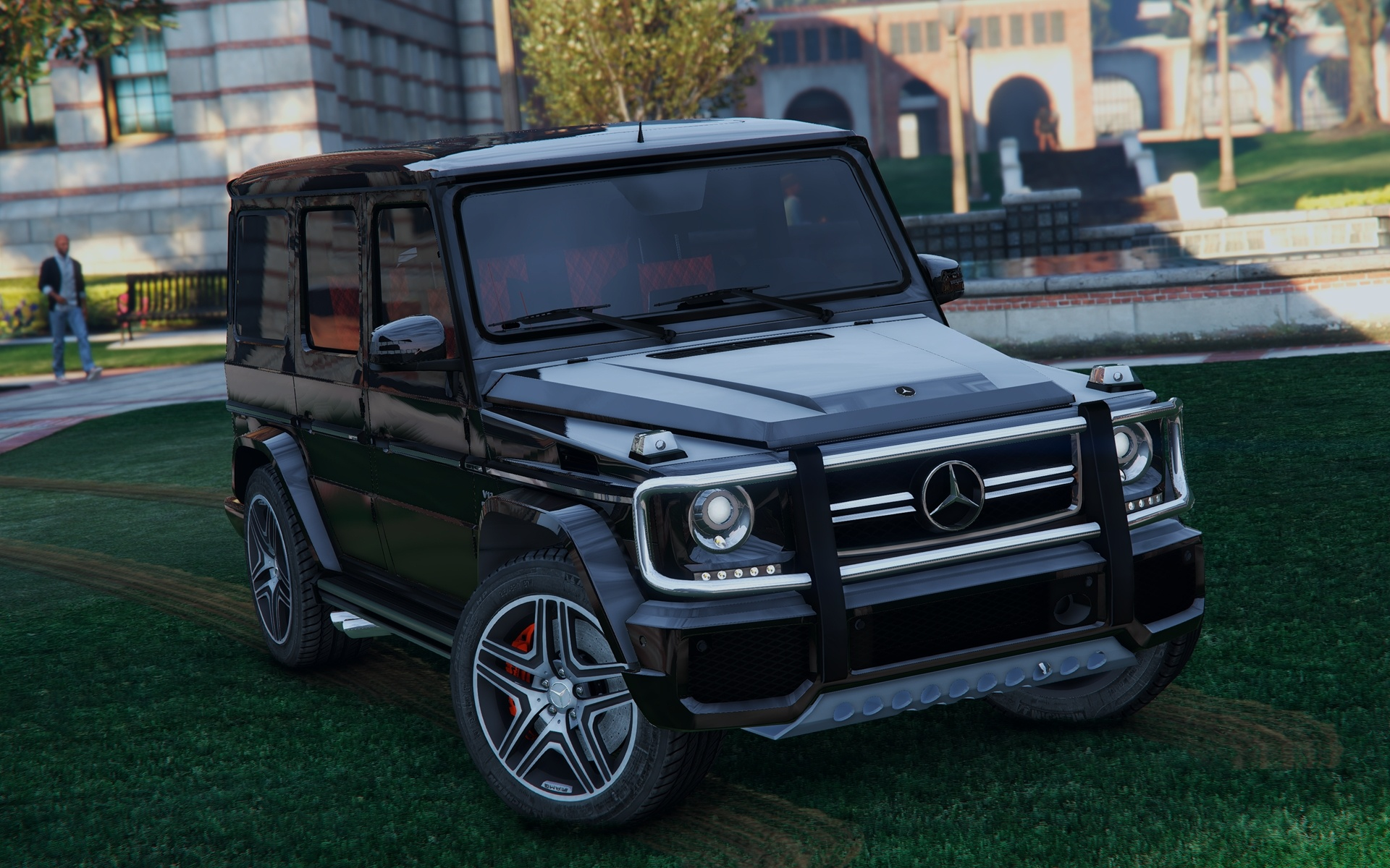 Mercedes AMG G65 recalled for high speed in reverse