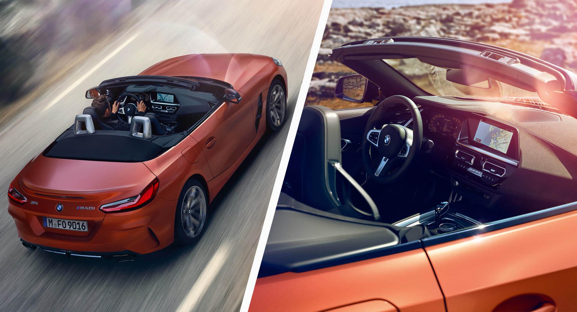 شاهد تسريب صور BMW Z4 2019 قبل موعد التدشين