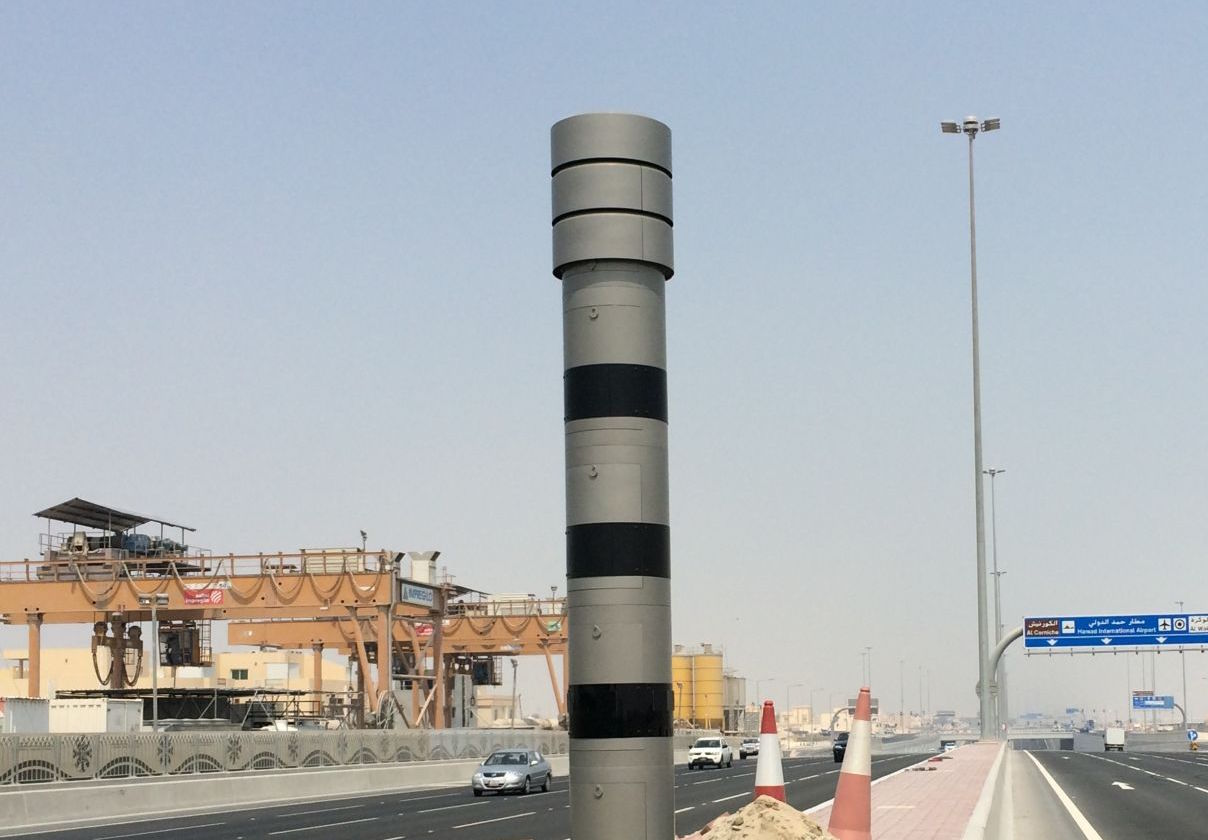 After only 2 days of commuters happiness.. Doha Express Way is stuffed with Cameras