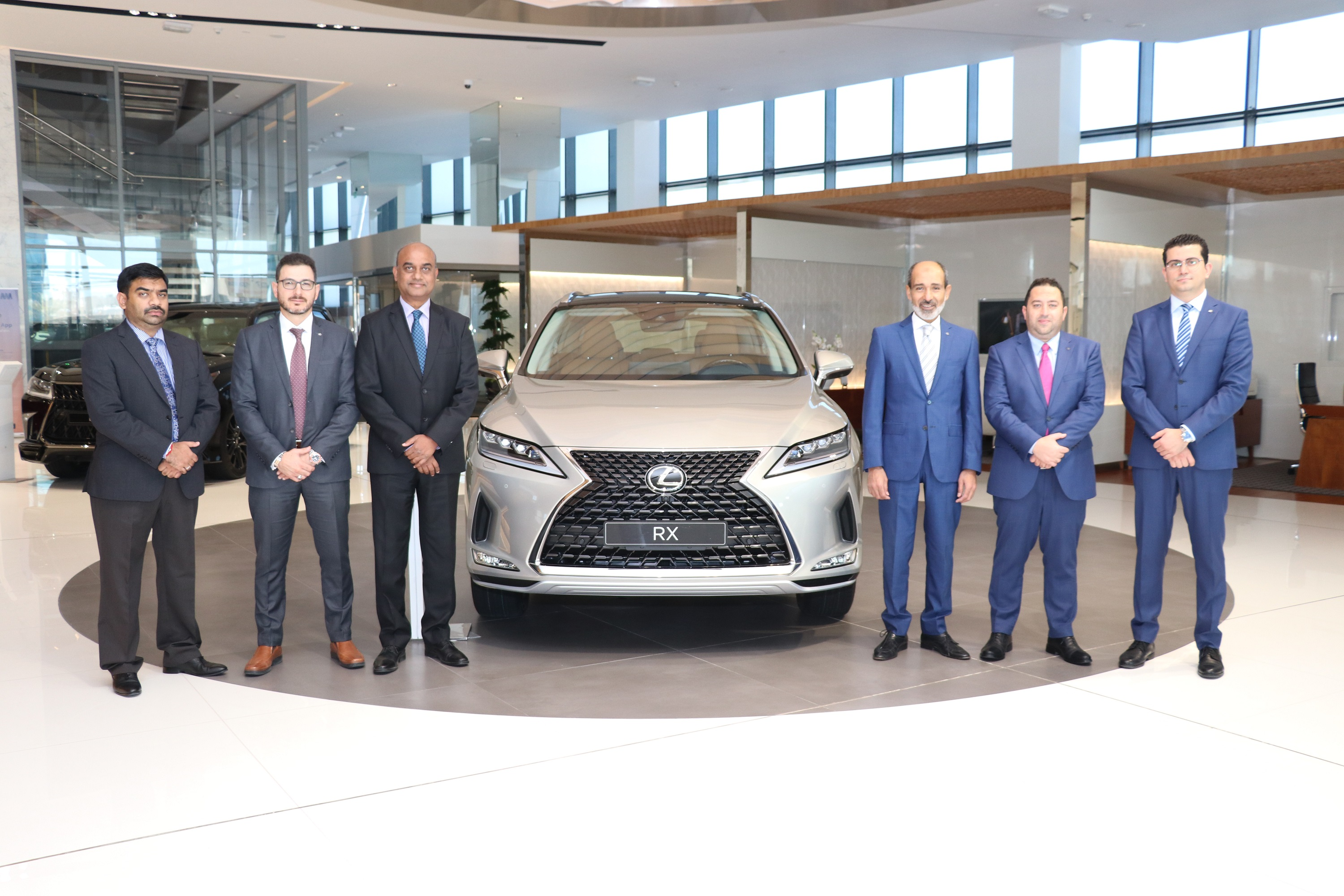 AAB launches the Luxury Crossover 2020 Lexus RX