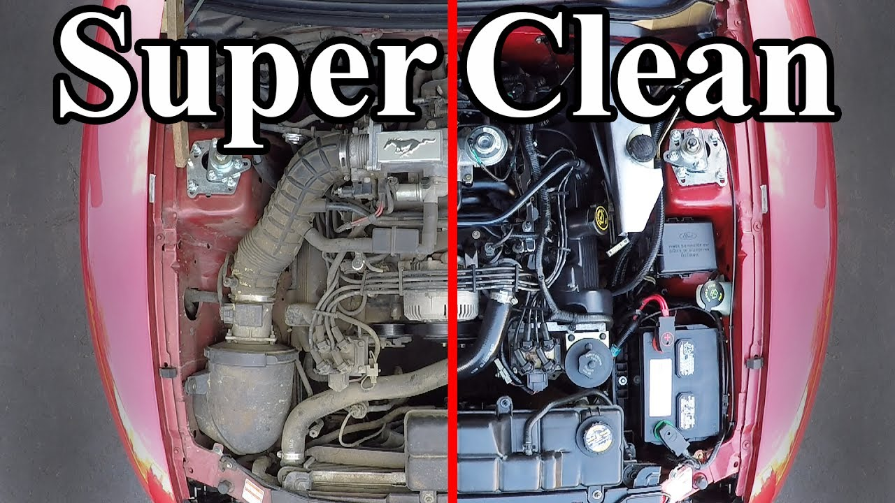 Cleaning your car engine is not a difficult mission anymore!