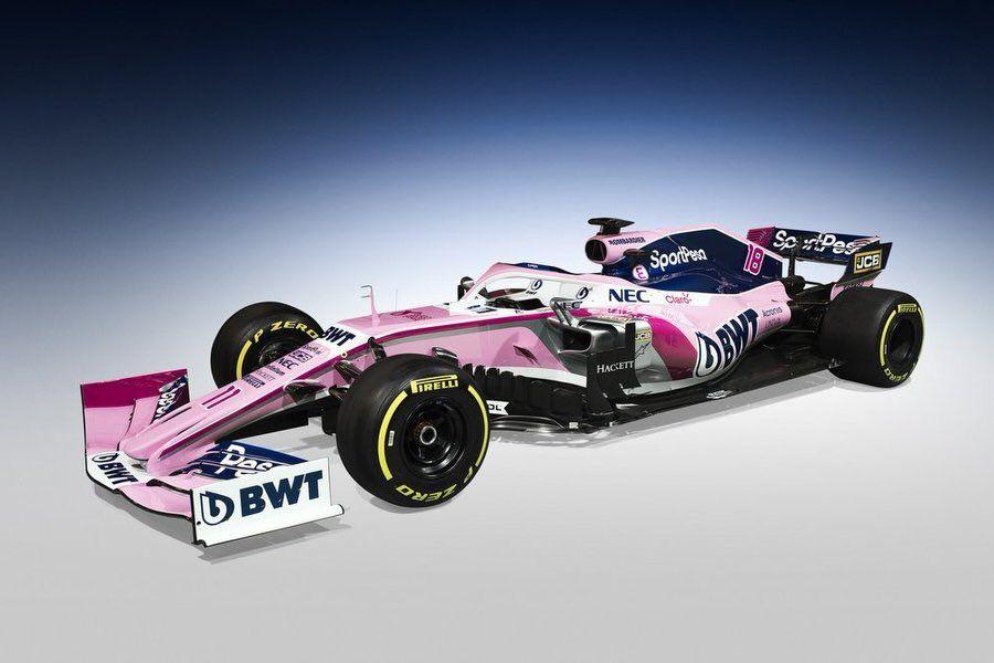 فريق رايسنغ بوينت يكشف عن سيارته الجديدة لموسم 2019