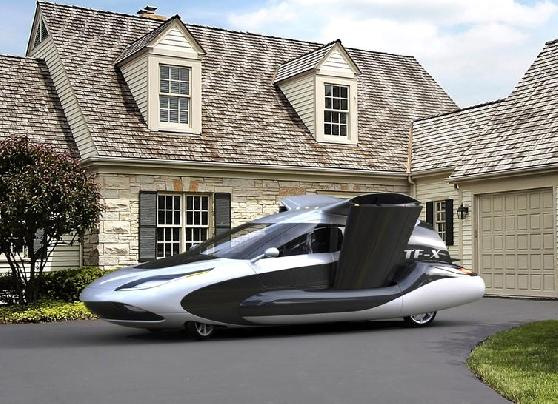 Video.. Flying cars are now coming to life