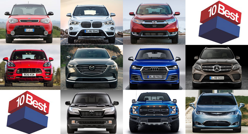 The best 10 cars for 2016