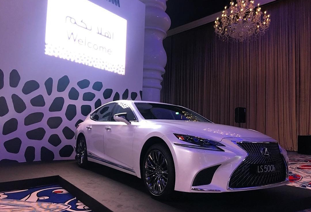 Abdullah Abdulghani launches LEXUS LS 2018