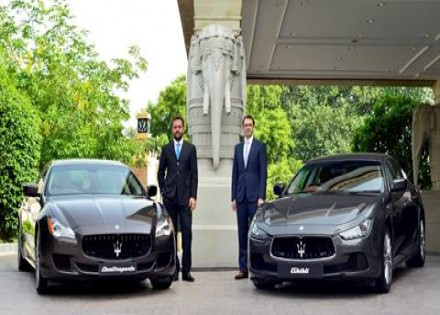 Italian luxury car manufacturer Maserati re-enters India