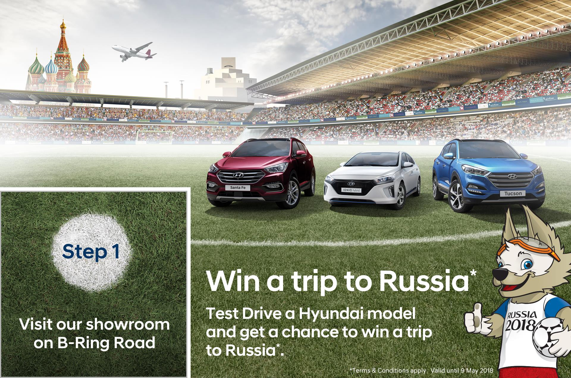 Win a trip to World Cup in Russia with Hyundai