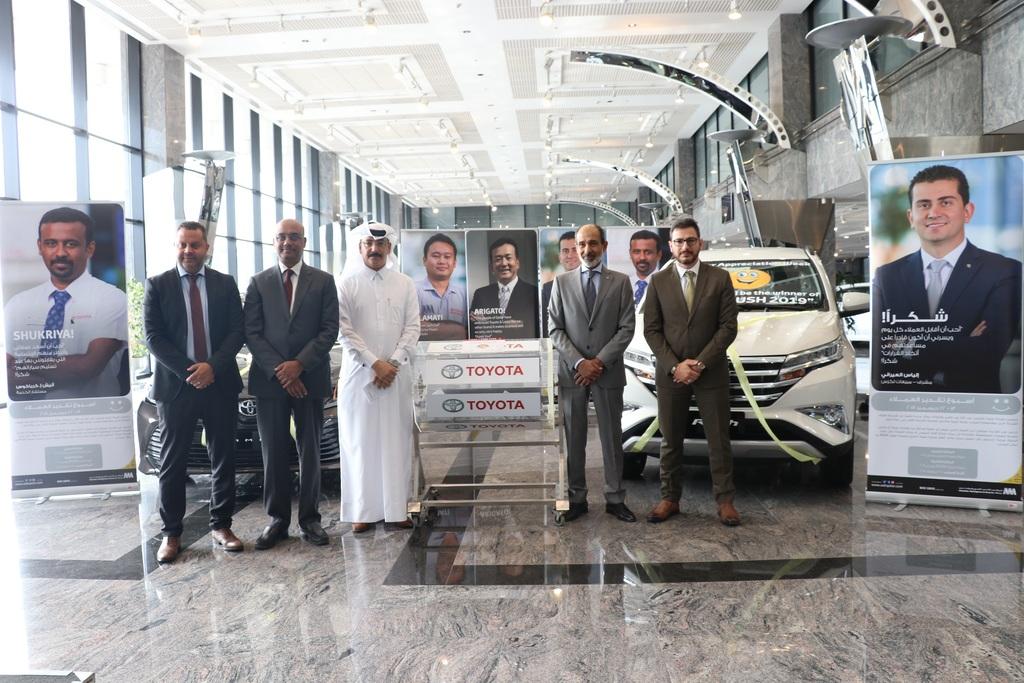 شركة عبد الله عبد الغني و إخوانه توزع جوائز الشكر لعملائها الكرام بمناسبة الاحتفال باليوم الوطنى