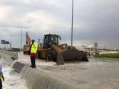 Closure in Many Roads in Qatar Due to Heavy Rains