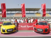 Spectacular event by Audi Qatar to instill pride to the brand