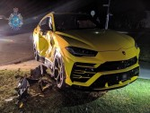 Aussie 14-year-old steals car, crashes into $263,000 Lamborghini Urus