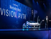 Mercedes unveils a concept car inspired by Avatar movie