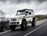 Say goodbye to Mercedes-Benz G500 4x4. It reached end of the line