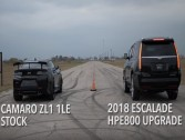 Could Cadillac Escalade beat Chevrolet Camaro ZL1 1LE?