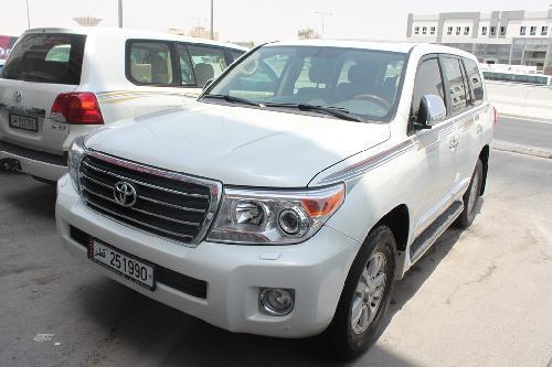 Toyota Land Cruiser GXR v8 2014