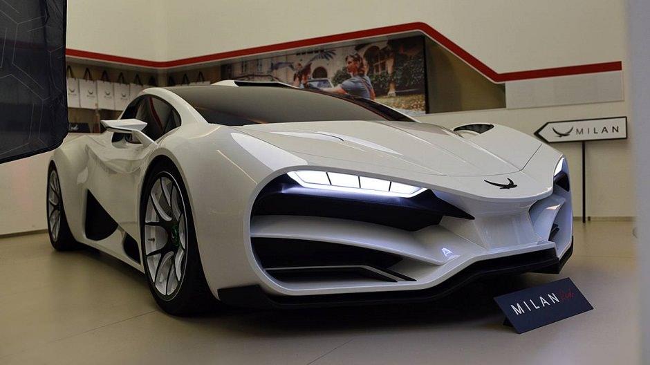 Watch: Austrias first hypercar (MILAN Red) | Q Motor
